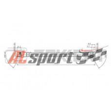 Шланг тормозной задний Citroen Berlingo, Xsara Picasso 99, Peugeot Partner I, II