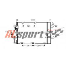 Радиатор кондиционера с осушителем Opel Astra H 1.8i Aut. 02/04- Condenser