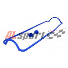 Прокладка клапанной крышки LADA 2108 Силикон 8V Синий цвет с втулками