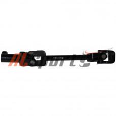 Вал карданный рулевого механизма VAG без ГУРа 18 шлицов  КИТ комплекта