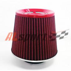 Фильтр нулевого сопротивления ASIA TP-017 155Х130Х 70 СЕТКА/ Красный