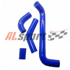 Патрубки радиатора LADA 2105-2106 алюминниевый радиатор 4шт.синий