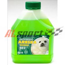 Антифриз готовый G11 Аляска Long Life зеленый (1кг)