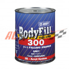 Грунт BODY 300 Грунт 3+1 отв.серый (1кг+333гр)