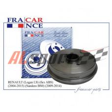 Барабан тормозной задний LADA X-Ray, LOGAN2  FRANCE CAR d=203 мм,