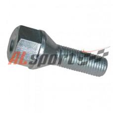 Болт колесный 12x1.25x30 ключ 19 LADA 2112 под литой диск (длинный)