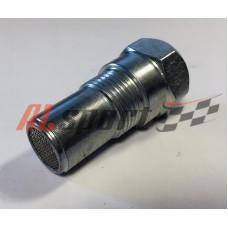 Обманка датчика кислорода ЕВРО4 прямая 46мм короткая  (Миникатализатор)