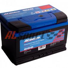 Аккумулятор 77 А/ч ACDelco обратная R+ EN750 А 278x175x175