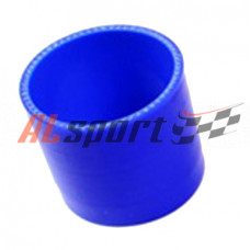 Патрубок силикон прямой D45 L 0070, 4 нити, стенка 4 мм