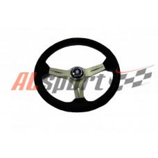 Руль спортивный  NARDI TORINO Replica 350mm замша вынос 3 см