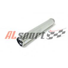 Алюминевая труба Ф76 мм  прямая 600 мм