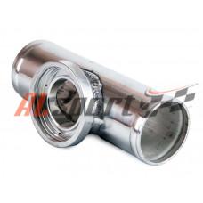 Алюминевая труба с адаптером для blow off HKS Ф63мм
