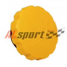 Крышка маслозаливной горловины LADA 1119 желтая внутр. резьба