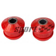 Подушка переднего шарнира LADA 2108 Полиуретан Красный 2 штуки