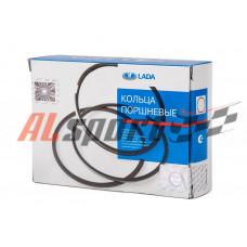 Кольца поршневые LADA 21083 D=82.40 мм /1.5-2.0-3.95/ (комплект на 4 цилиндр)