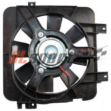 Вентилятор системы охлаждения LADA 2110 с кожухоми и  резистором