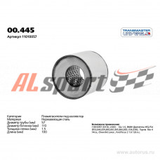 Пламегаситель коллекторный d=110мм/L=100мм/d входа/выхода=57мм)  Hyundai Solaris