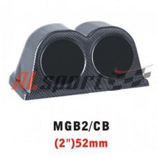 Подиум на 2 прибора карбон  52 мм