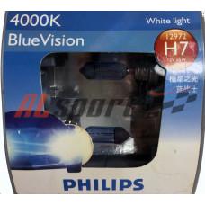 Лампа H 7 12V 55W PHILIPS 2 шт. Blue Vision