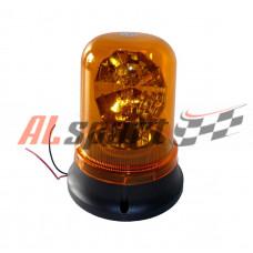 Спецсигнал Фонарь желтый лампа H1 привод мотор 24V крепление стационарное