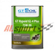 Масло трансмиссионное 75W90 (4 л) GT OIL Hypoid GL-4 Plus/GL5