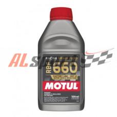 Тормозная жидкость MOTUL RBF660 Racing Brake Fluid 0.5 литра