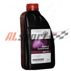Тормозная жидкость TOYOTA DOT-5.1  1 литр