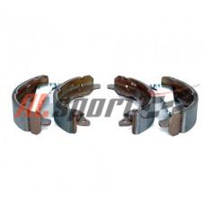 Колодки тормозные барабанные Hyundai Accent I 94-04,Getz 180x31, с рычагом