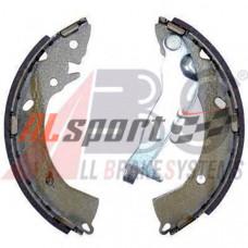 Колодки тормозные барабанные Hyundai Getz (02-) с ABS d=203