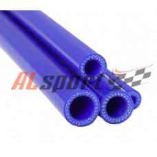 Патрубок силикон прямой D20 L 1000, 4 нити, стенка 5 мм