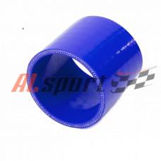 Патрубок силикон прямой D30 L 60, 4 нити, стенка 5 мм