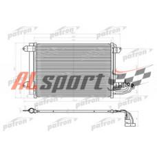Радиатор кондиционера AUDI паяный: A3, SEAT: ALTEA, LEON, TOLEDO,SKODA: OCTAVIA,