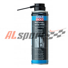 Грязеотталкивающая белая смазка Wartungs-Spray weiss 0,25л
