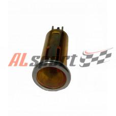 Контрольная лампа AVS желтая 10мм 12 вольт