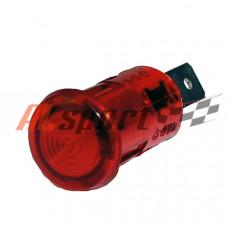 Контрольная лампа AVS красная 10мм 12 вольт