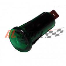 Контрольная лампа AVS зеленая 10мм 12 вольт