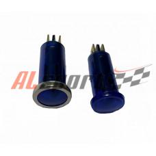 Контрольная лампа AVS синяя 10мм 12 вольт