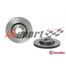 Диск тормозной передний LADA VESTA BREMBO XTRA D=260mm (ком.2 шт) с ABS