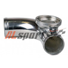 Алюминевая труба с адаптером для blow off HKS Ф63мм 90 градусов