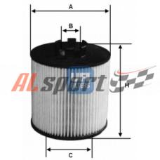 Фильтр масляный (элемент) ECO с прокладкой
