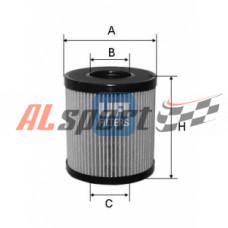 Фильтр масляный (элемент) ECO с прокладкой FORD FOCUS II/III/KUGA I/II/MONDEO IV