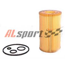Фильтр масляный (элемент) ECO с прокладкой BMW E60, 61, 63, X5 3.5-4.8i 01