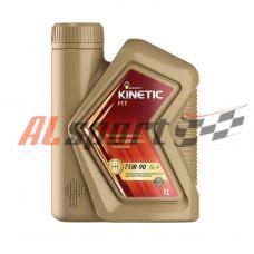 Масло трансмиссионное 75W90 Rosneft (1 л)  GL-4 Kinetic MT полусинтетическое