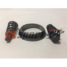Хомут глушителя LADA 2110 с болтами для ремонта нейтрализатора