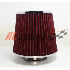 Фильтр нулевого сопротивления ASIA TP-007 155Х130Х 70 Красный/ХРОМ