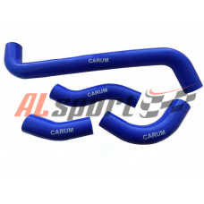 Патрубки радиатора LADA 21214 (силикон синий)