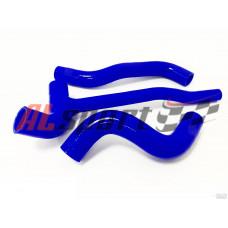 Патрубки радиатора LADA 2123 (силикон синий)