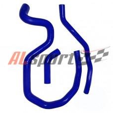 Патрубки отопителя (печки) LADA Largus для 16 V синий (3 шт)