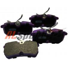 Тормозные колодки задние LADA 2108-2190 Вектор-Торнадо NiBK