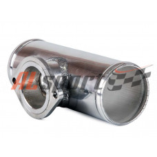 Алюминевая труба с адаптером для blow off Greddi Ф51мм